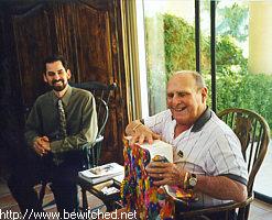 Bill opening gift