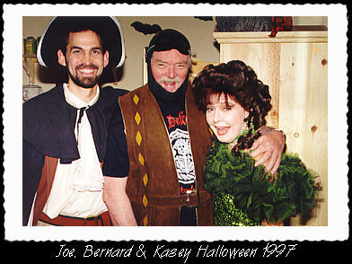 Image of Joe with Bernard and Kasey