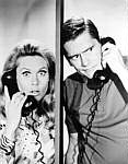 Lizzie & Dick on phone