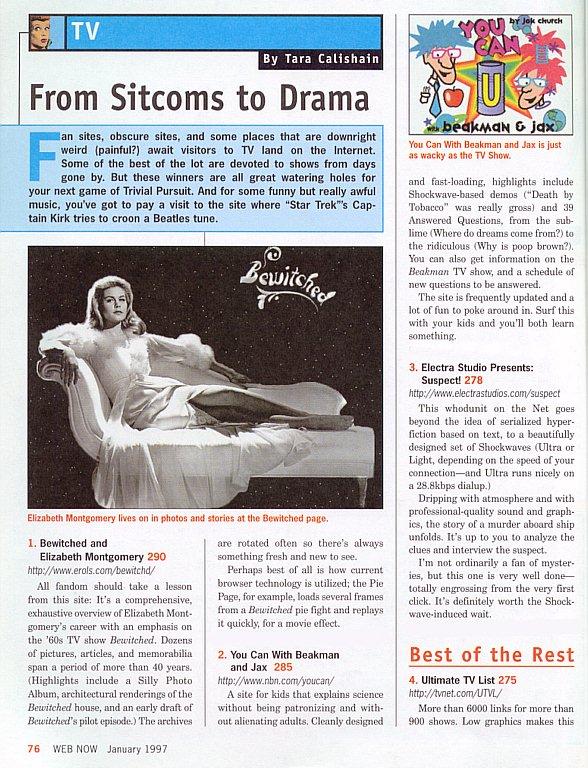 Web Now Magazine